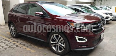 Foto venta Auto usado Ford Edge Sport (2017) color Vino Tinto precio $508,000