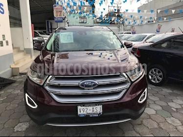 Foto venta Auto Seminuevo Ford Edge Titanium (2017) color Rojo Tinto precio $524,500
