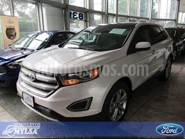 Foto venta Auto Seminuevo Ford Edge Titanium (2018) color Blanco precio $680,000