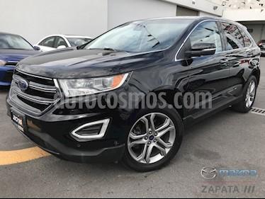 Foto venta Auto usado Ford Edge Titanium (2016) color Gris precio $395,000