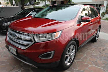 Foto Ford Edge Titanium usado (2016) color Rojo precio $395,000