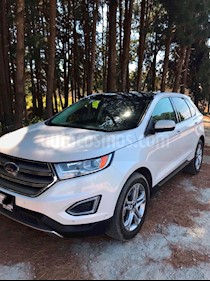 Ford Edge Titanium usado (2015) color Blanco Platinado precio $335,000