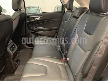 Foto venta Auto usado Ford Edge Titanium (2018) color Plata precio $553,000