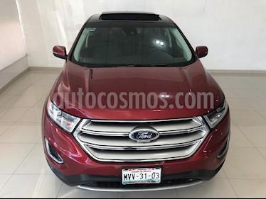 Foto venta Auto Seminuevo Ford Edge Titanium (2015) color Rojo Rubino precio $349,900