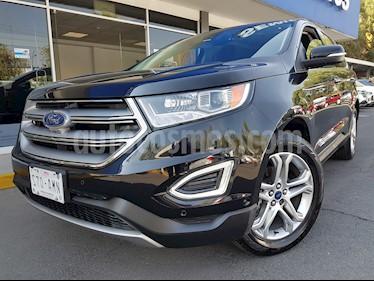 Foto venta Auto usado Ford Edge Titanium (2017) color Negro Profundo precio $485,000