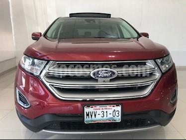 Foto venta Auto usado Ford Edge Titanium (2015) color Rojo Rubi precio $339,900