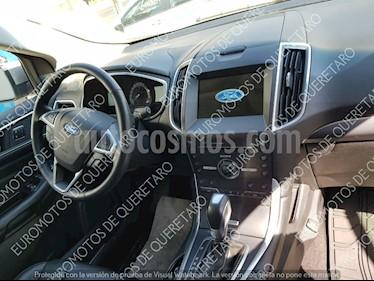 Foto venta Auto usado Ford Edge Titanium (2016) color Plata Estelar precio $415,000