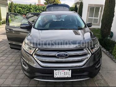 Foto venta Auto usado Ford Edge Titanium (2017) color Gris precio $486,000