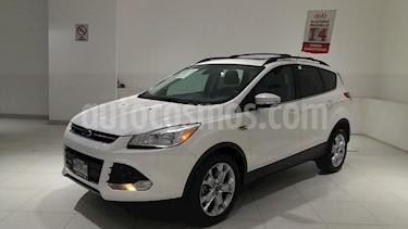 foto Ford Escape 5P TITANIUM 2.0T TA CLIMATRONIC GPS QCP F. NIEBLA  usado (2014) color Blanco precio $245,000