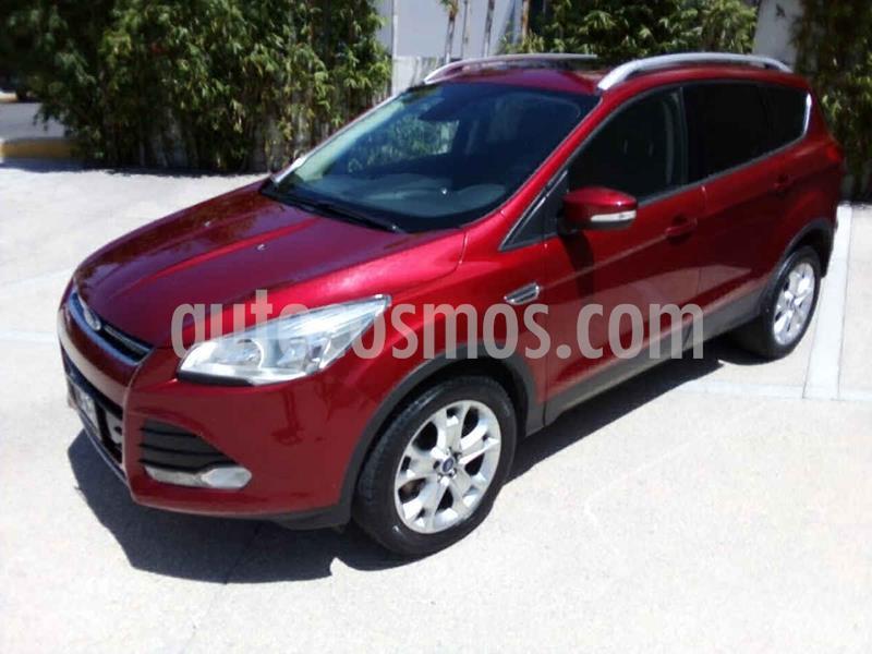 foto Ford Escape Titanium EcoBoost usado (2016) color Rojo precio $247,000