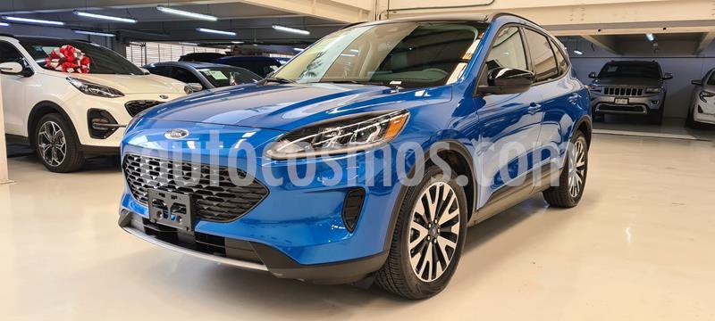 Ford Escape SE Hybrid usado (2020) color Azul precio $609,100