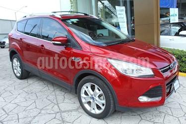 foto Ford Escape 5p Titanium L4/2.0 Aut Ecoboost usado (2016) color Rojo precio $295,000