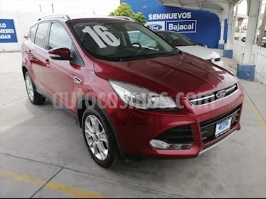 Ford Escape 5P TITANIUM L4/2.0 AUT ECOBOOST usado (2016) color Rojo precio $320,000