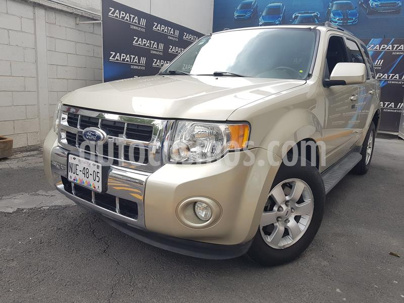 Ford Escape Limited usado (2011) color Oro precio $135,000