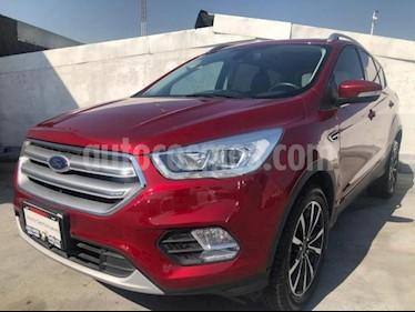 Ford Escape 5P TITANIUM L4/2.0/T AUT ECOBOOST usado (2018) color Rojo precio $380,000
