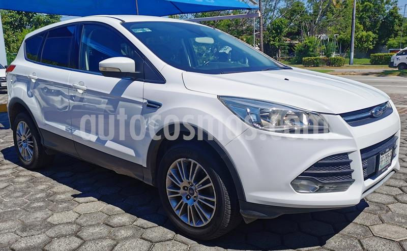Ford Escape S Plus usado (2016) color Blanco Oxford precio $230,000