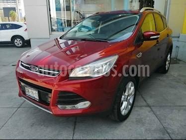 Ford Escape 5p Titanium L4/2.0 Aut Ecoboost usado (2016) color Rojo precio $247,000