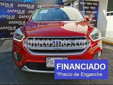 Ford Escape Titanium usado (2017) color Rojo Rubi precio $82,500