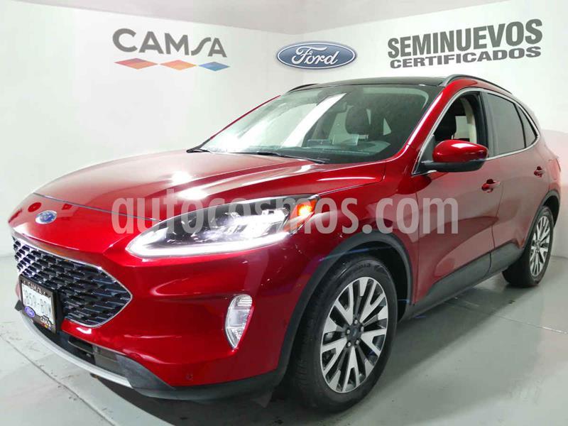 Ford Escape Titanium EcoBoost usado (2020) color Rojo precio $599,000