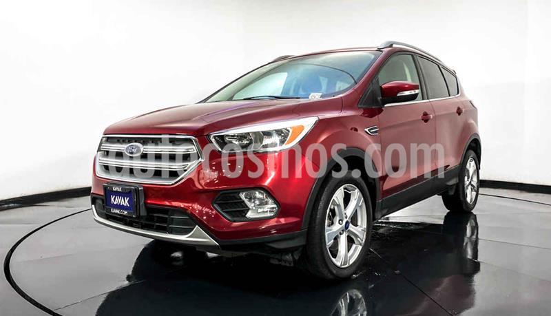 Ford Escape Trend Advance EcoBoost usado (2017) color Rojo precio $312,999