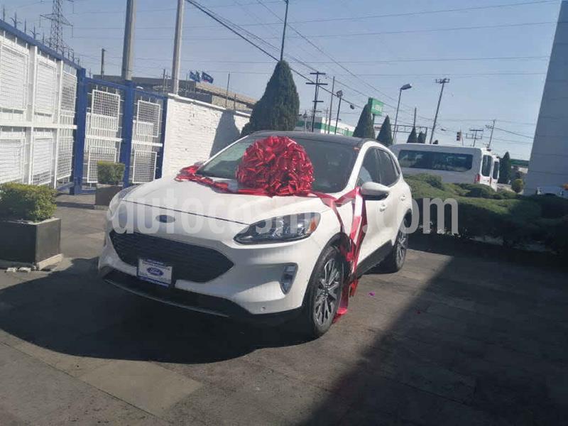 Ford Escape Titanium EcoBoost usado (2020) color Blanco precio $630,000