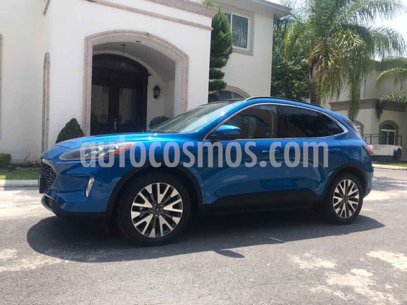 Ford Escape Titanium EcoBoost usado (2020) color Azul precio $519,000