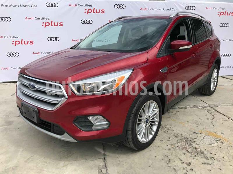 Ford Escape Trend Advance usado (2017) color Vino Tinto precio $269,800