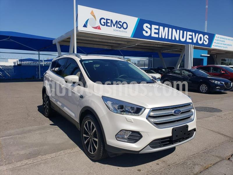 Ford Escape Titanium EcoBoost usado (2019) color Blanco precio $405,000