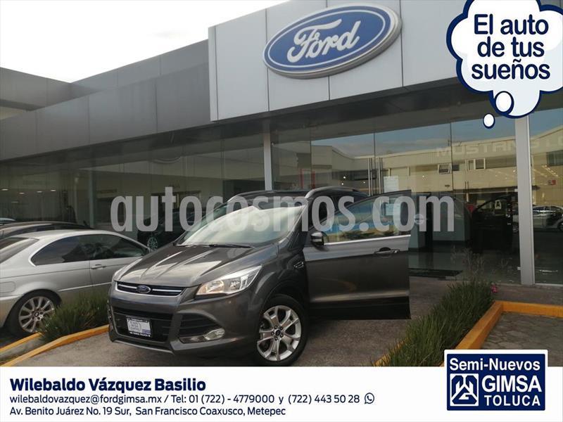 Ford Escape Titanium usado (2016) color Gris precio $245,000