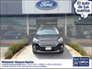 Ford Escape Titanium EcoBoost usado (2017) color Negro precio $340,000