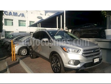 Foto venta Auto usado Ford Escape Titanium EcoBoost (2017) color Plata precio $389,900