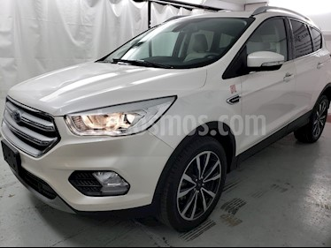 Foto venta Auto usado Ford Escape Titanium EcoBoost (2018) color Blanco Platinado precio $369,000