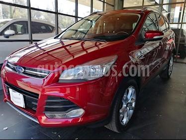 Foto venta Auto usado Ford Escape Titanium (2016) color Rojo Rubi precio $304,000