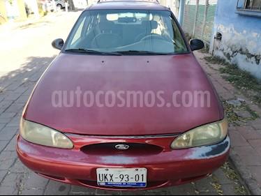 Foto venta Auto usado Ford Escort Vagoneta Equipada Aut (1999) color Rojo precio $23,000