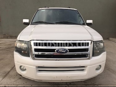 Foto venta Auto usado Ford Expedition 5 PTS. LIMITED, 5.4L, PIEL, QC, DVD (2013) color Blanco precio $320,000