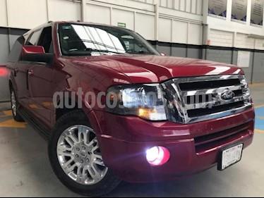 Foto venta Auto usado Ford Expedition 5p Max Limited V8/5.4 Aut (2014) color Rojo precio $390,000