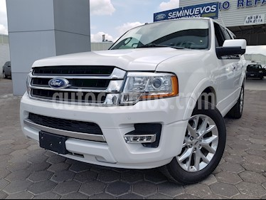 Foto Ford Expedition Limited 4x2 usado (2016) color Blanco Platinado precio $454,900