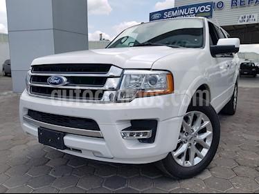 foto Ford Expedition Limited 4x2 usado (2016) color Blanco Platinado precio $454,900