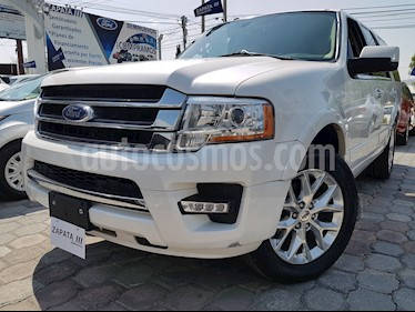 Ford Expedition Limited 4x4 usado (2016) color Blanco precio $465,000