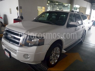 Foto venta Auto usado Ford Expedition Limited Max 4x2 (2011) color Blanco Platinado precio $189,000