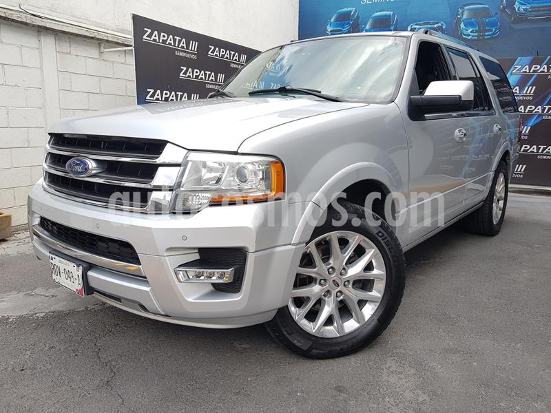 Ford Expedition Limited 4x2 usado (2015) color Plata Estelar precio $355,000