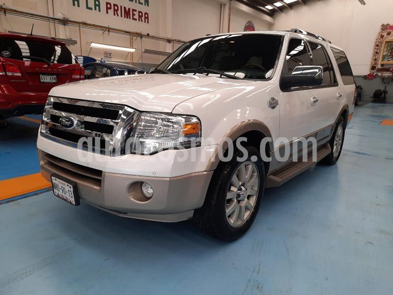 Ford Expedition King Ranch 4x2 usado (2014) color Blanco precio $330,000