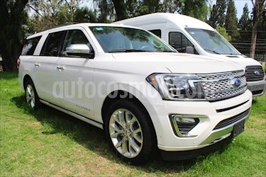Ford Expedition PLATINUM MAX 4X4 3.5L GTDI usado (2018) color Blanco precio $1,424,400