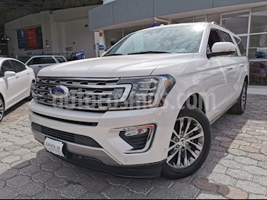 Ford Expedition Limited 4x2 MAX usado (2018) color Blanco Oxford precio $830,000