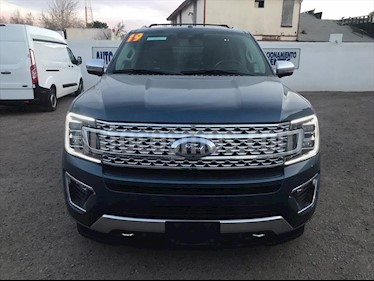 Ford Expedition PALTINUM MAX 4X4 usado (2019) color Azul Electrico precio $1,080,000