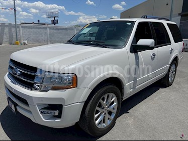 Ford Expedition Limited 4x2 usado (2015) color Blanco precio $328,000