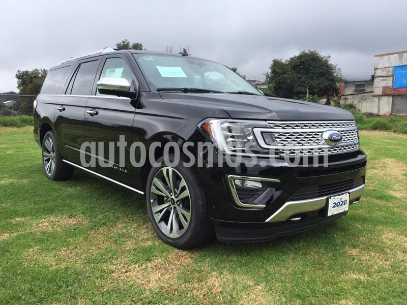 Ford Expedition Platinum Max 4x4 usado (2020) color Negro Profundo precio $1,350,000