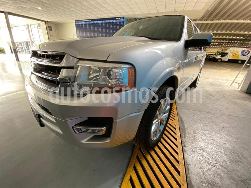 Ford Expedition Limited 4x2 MAX usado (2017) color Plata precio $459,900