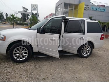 Ford Expedition 5P LIMITED V6 3.5 BT AUT usado (2015) color Blanco Platinado precio $330,000