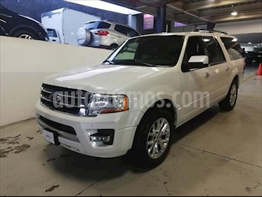 Ford Expedition Limited 4x2 MAX usado (2017) color Blanco precio $589,900